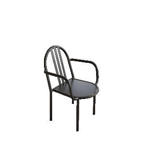 chaise-accoudoirs-mallet-stevens