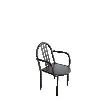 chaise-avec-accoudoir-en-metal_366259