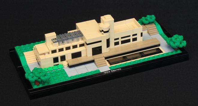 Villa Cavrois en Lego