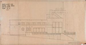 Villa Popesco, Façade sud, 1938-39